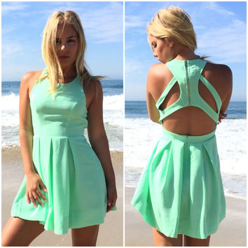 Triad Cut Out Dress