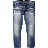 River Island MensMid wash Jack & Jones Vintage slim jeans