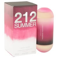 212 Summer Perfume by Carolina Herrera 2.0 oz Eau De Toilette Spray Limited Edition