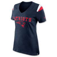 Women's Nike New England Patriots Fan Top NFL T-Shirt