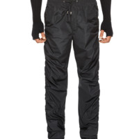 Versace Ruched Nylon Pants for Men   US Online Store