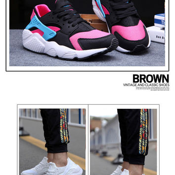 """""""Nike Air Huarache"""" Male Female Breathable Casual Mesh Surface Couple Sneakers Shoes"""