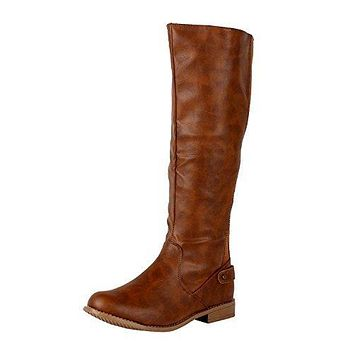 Women's Santiago Stretch Knee High Riding Boots