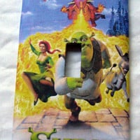 Light Switch Cover - Light Switch Plate Shrek