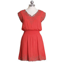 apple baby blossom stitched dress - $32.99 : ShopRuche.com, Vintage Inspired Clothing, Affordable Clothes, Eco friendly Fashion