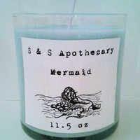Limited Edition 'Mermaid' Soy Candle
