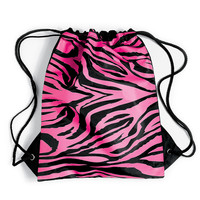 Zebra Animal Print Sling Dance Bag - Balera