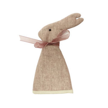 Hare Or Rabbit Egg Cosy In Linen