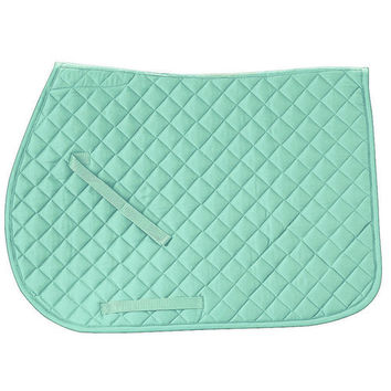 Rider's International Quilted Cotton Saddle Pad | Dover Saddlery