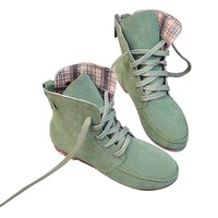 Angel Wings Girls Lace up Winter Boots Flat Ankle Shoes Mothers Day Gifts (42)