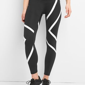 GFast Blackout Stripe Leggings | Gap