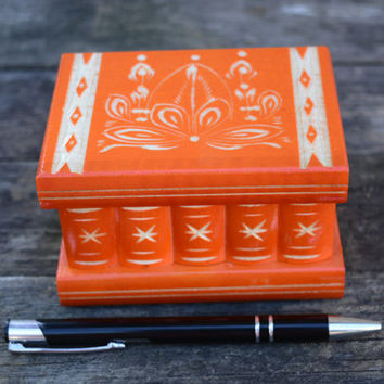 M SIZE Personalized secret compartment box secret box puzzle box brain teaser handmade carved wooden jewelry box candy box  trinket fun box