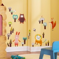 Wall of the Wild Wall Decals in Wall Decals | The Land of Nod