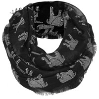 Elephant Print Snood - Scarves - Bags & Accessories - Topshop USA