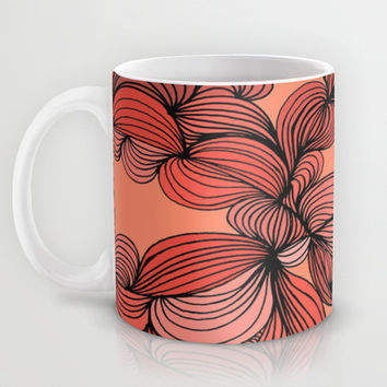 Retro Orange Mug by DuckyB (Brandi)