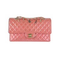 Chanel Ginza 5th Anniversary Pink Patent Medium 2.55 Flap - Rare