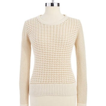 French Connection Lambs wool and Angora Blend Sweater