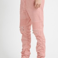 Victorious Twill Moto Joggers