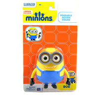 The Minions Bob Poseable Action Figure [4.75 Inches]