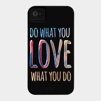 Do what you love what you do by jasebloordesign