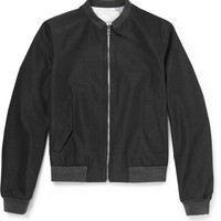 Wooyoungmi - Reversible Wool-Blend Bomber Jacket | MR PORTER