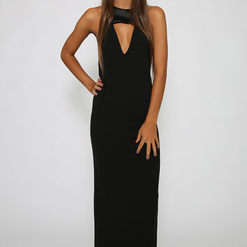 Love Indie - Eye On Me Formal Dress - Black