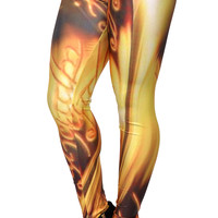 There Can Be Only One Leggings Design 128