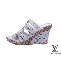 Louis Vuitton Women Heels Sandals Shoes-5