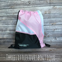 Look Pretty, Train Dirty Drawstring Bag!