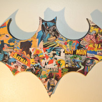 Batman Wall Plaque made to order van helloskywalker op Etsy
