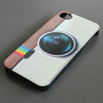 New Fashion Camera Design Hard Back Cover Case Shell For Apple iPhone 4 4G 4S