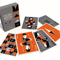 The Retro Deck - Playing Cards by Pocono Modern
