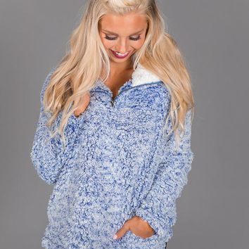 The Meritt Pullover in Blue