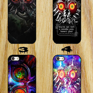 Majora Mask Legend Of Zelda Nebula Galaxy iPhone 4/4S/5/5S/5C/6 Samsung Galaxy S3/S4/S5 custom case
