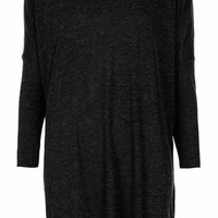 LONG SLEEVE SLUBBY TOP