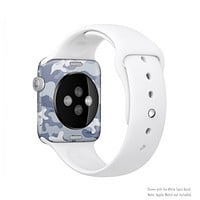 The Traditional Snow Camouflage Full-Body Skin Kit for the Apple Watch