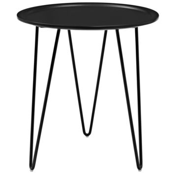 Digress Mid-Century Style Side Table (Black or White)