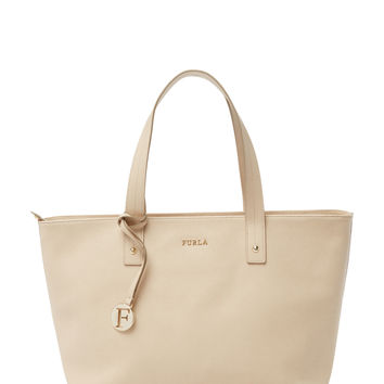Furla Women's Daisy Medium East/West Tote - Cream/Tan