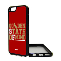 Apple iPhone 6 5C 5S 4S Generation Fitted Rubber Silicone TPU Phone Case Cover Golden State Of Mind San Francisco 49ers SF Cali Bay Area