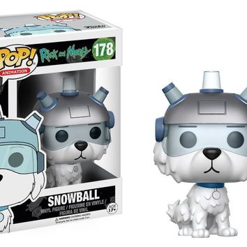 Funko Pop Animation Rick and Morty Snowball  178 12445