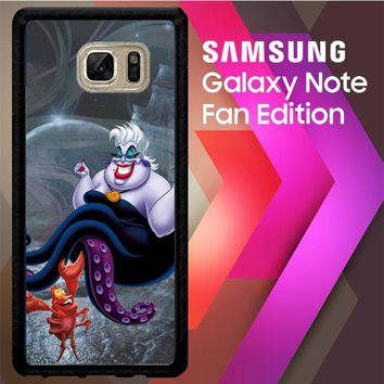 Ursula Octopus Little Mermaid D0096 Samsung Galaxy Note FE Fan Edition Case