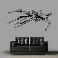 kik2287 Wall Decal Sticker cool space spacecraft star wars living room bedroom