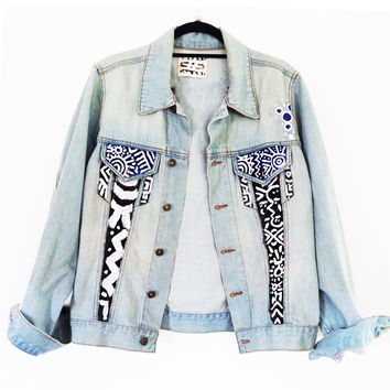 PHENOMENAL MARK X ANARCHY STREET DENIM JACKET