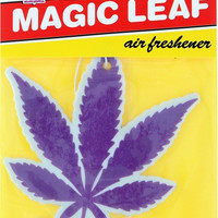 Skate Mental Magic Leaf Purple Air Freshener