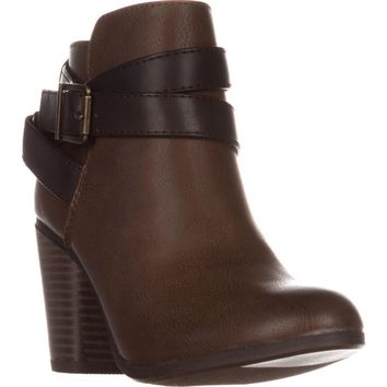 MG35 Lexia Ankle Boots, Cognac, 7.5 US
