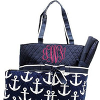 Anchor Diaper Bag