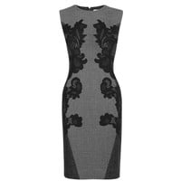 Pentra Jacquard Fitted Dress