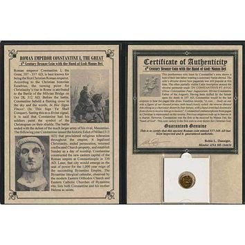 Roman Emperor Constantine Hand Of God Album