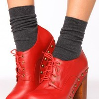 Copen Platform - Red | NASTY GAL | Jeffrey Campbell shoes, Cheap Monday, MinkPink, BB Dakota, UNIF + more!