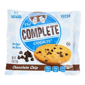 Lenny And Larry's The Complete Cookie - Chocolate Chip - 4 Oz - Case Of 12